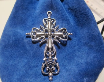 Large cross pendant model 6.5 cm