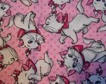 Disney's Marie cotton fabric
