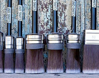 Cling On! Brushes - All shapes and sizes.  The most awesome brush ever!