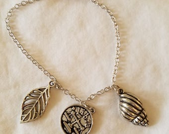 Libra charm bracelet