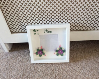 Mum decorative box frame, ideal gift for Mother's Day