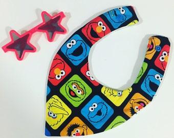 Sesame Street dribble bib
