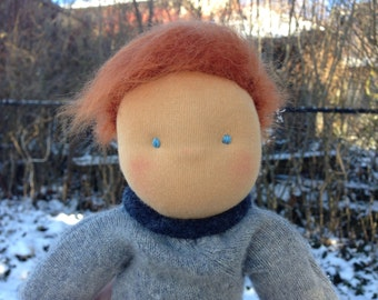 Waldorf Doll - Boy Doll - Red Haired