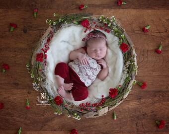 Christmas Newborn/ Toddler  Digital Backdrop/ prop (Adalyn)