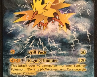 Zapdos - Extended Art trading Card