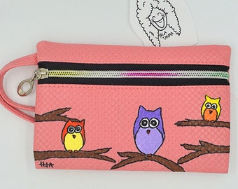 One Compartment Purse - pink  - FREE SHIPPING - WORLDWIDE