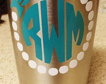 Bow and Pearls Monogram