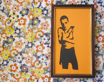 Trainspotting's Renton/Paper Art