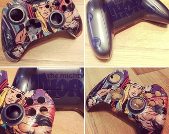 Customised Xbox one controller shell, gaming, comics, marvel, Dc