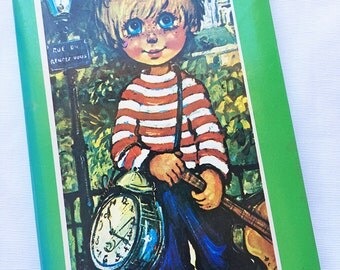 Vintage | Big Eyed Boy | French Style | Photo Album | Brag Book