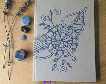 Hand-bound lined Journal
