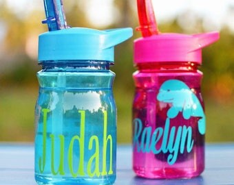 LOCAL LISTING ONLY | Personalized Childrens waterbottle