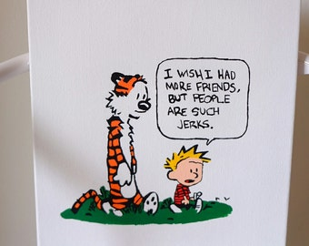 Calvin and Hobbes (Jerk)