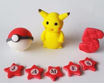 POKEMON  cake toppers edible decoration