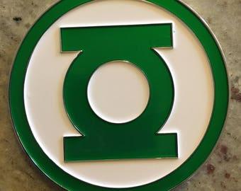 Green Lantern Challenge Coins - WILLPOWER