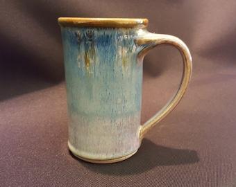 Sunset Canyon Pottery Tall Mug in Aurora Glaze