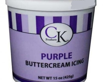 CK Products Purple Buttercream Icing 15oz