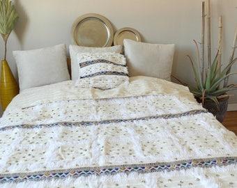 Handira - Moroccan wedding blanket