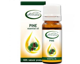 Natural Essential Oil Pine - Pinus siylvestris oil Pure Premium Quality 10ml Aromatherapy Therapeutic Grade Aroma BUY 3 GET 1 FREE