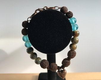 Earth & Sky diffuser bracelet