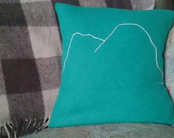 Suilven Cushion in Harris Tweed