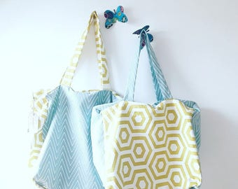 Shopping bag or beach bag