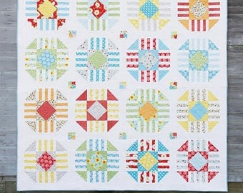 Cluck. Luck Sew Vintage pattern, fat quarter friendly,