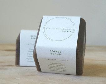 Coffee Scrub Soap Bars
