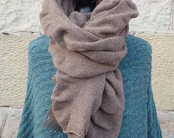 Merino Ruffle Wrap