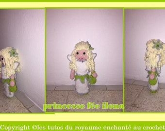 pattern tutorials Princess fairy ilona