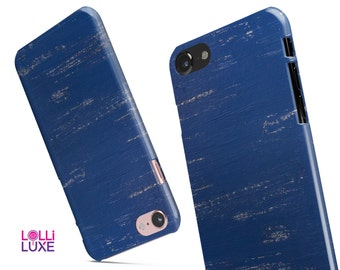 Blue and White Chipped Paint-LolliLuxe Snapit Case for the iPhone7or7Plus 6/6s or 6/6s Plus   5/5s/SE  Galaxy & More!
