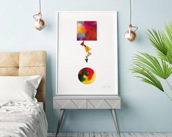 Collage - Fine Art Giclée Print
