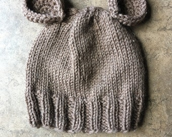 Baby animal beanie Mouse