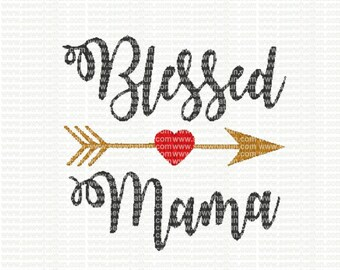 Blessed Mama Embroidery Design, Blessed Mama embroidery, Blessed Mama stitch, embroidery, Blessed Mama embroidery design, mama, blessed