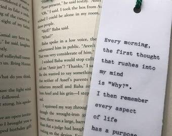 Poem Bookmark