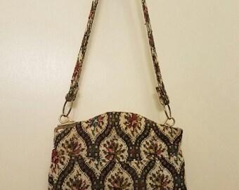"""1970's """"Carpet"""" Shoulder Bag"""