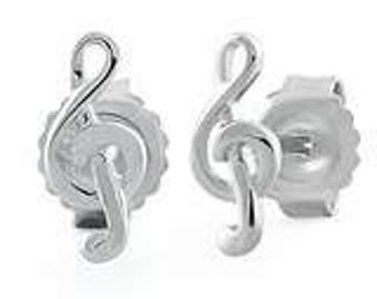 Music Symbol Earrings