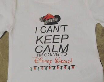 Kids Disney Christmas Shirt