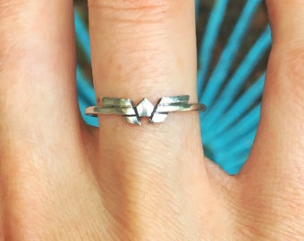 Wonder Woman ring - sterling silver