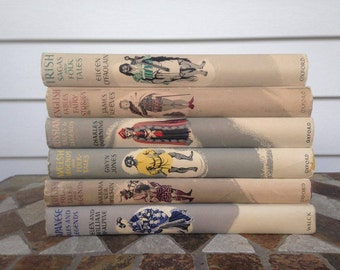 Vintage Book Bundle Set of 6 Oxford Myths and Legends Collection by Various Authors 1954, 1955, 1957, 1959