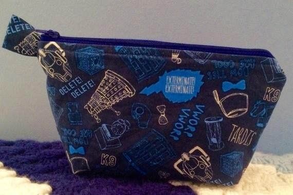 Doctor Who Cosmetic Bag