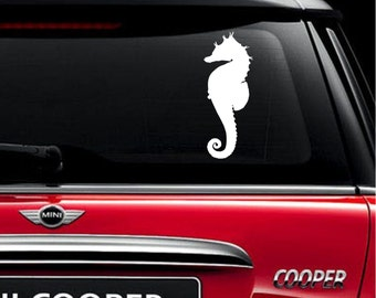Sea Horse Car Decal Sticker Marine Life Buy 2 get 1 FREE