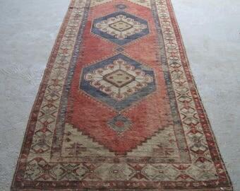 5'1''x11'8'' Traditional Carpet Weaving made in Anatolia / Turkey, Stylish Decorative Rug