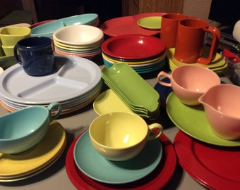 Melmac 68 piece dinnerware collection
