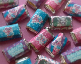 Abby Cadabby Inspired Miniature Candy Bar Wrappers