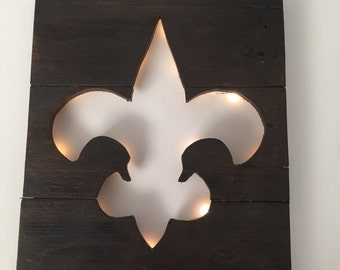 New Orleans Saints wall hanging