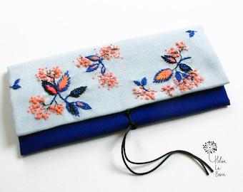 """Blue MELON"" embroidery Kit - Embroidery Kit ""BLUE Melon"""