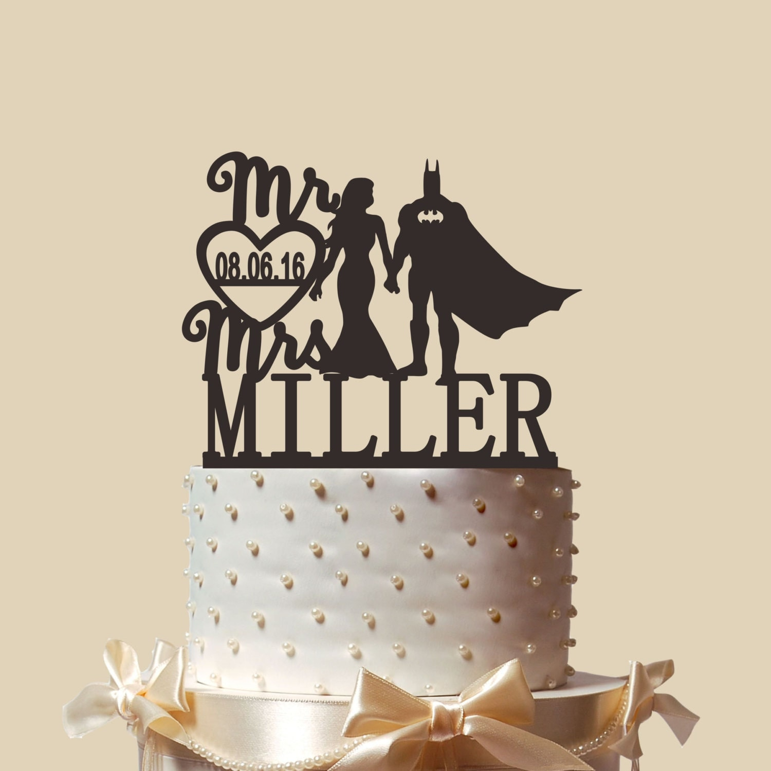 Personalized Cake Topper,Bridal Shower Topper,Wedding Decoration ...