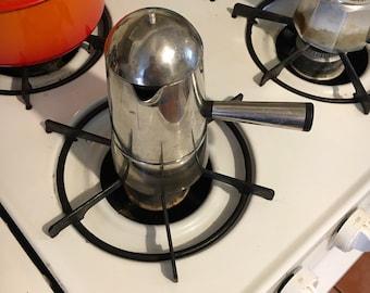 Italian Vintage Lavazza Carmencita Espresso/Coffee Percolator 3 cup