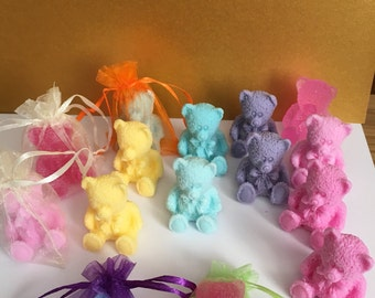 So cute little soap bears, skin friendly, vegan Friendly